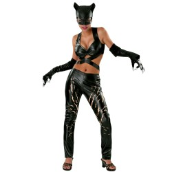 Sexy Catwoman Cat Woman Costume Mask Halloween